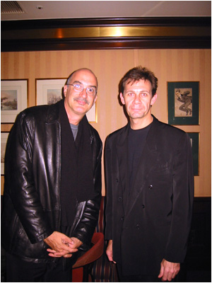 Mark with Michael Brecker