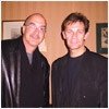 Mark with Michael Brecker, Tokyo 2001