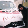Snow on the Tour Bus, Germany 1999
